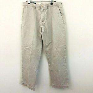 Polo Ralph Lauren Preston Khaki Pants 36x32